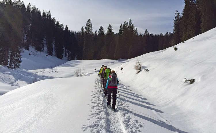 12 Stunden Schneeschuhwanderung Im Lattengebirge
