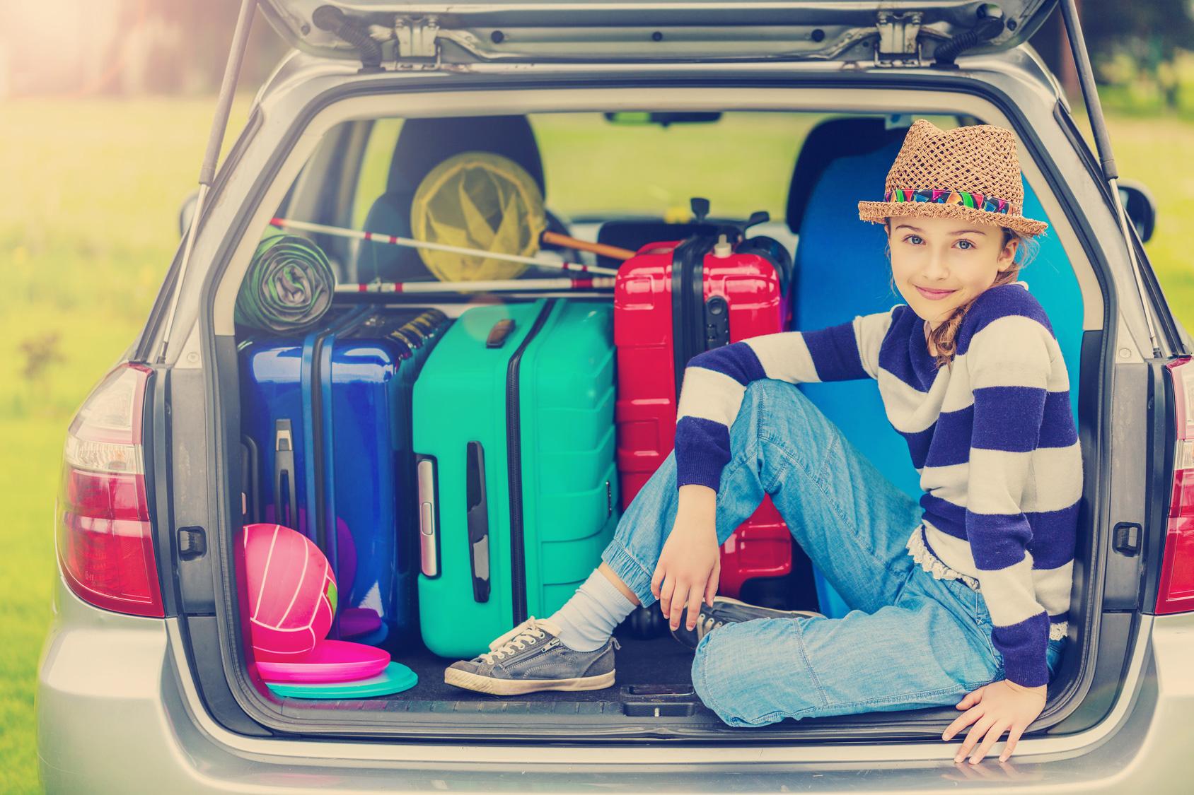 Vor allem für Familienurlaube ist das Auto gut geeignet, denn hier existieren keine Maximalgewichte für Spielzeug und Co.