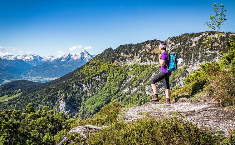 Abstieg vom Untersberg über Scheibenkaser