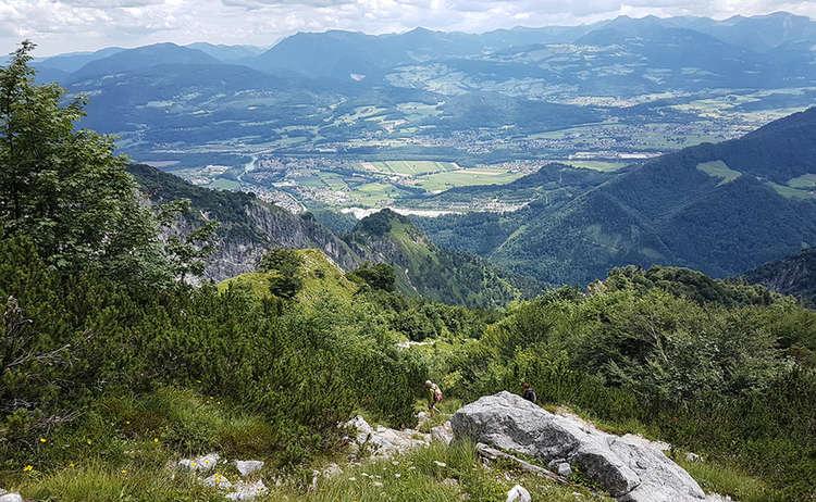 Abstieg Vom Untersberg