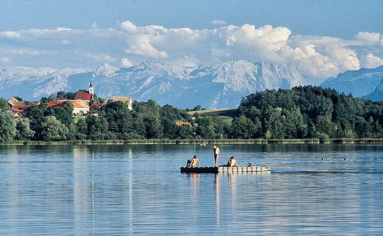 Der Abtsdorfer See: Wärmster Badesee in Oberbayerrn