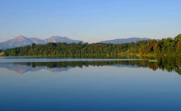 Abtsdorfer See in Saaldorf-Surheim