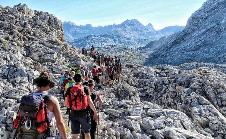 Almer Wallfahrt Steinernes Meer Berchtesgaden