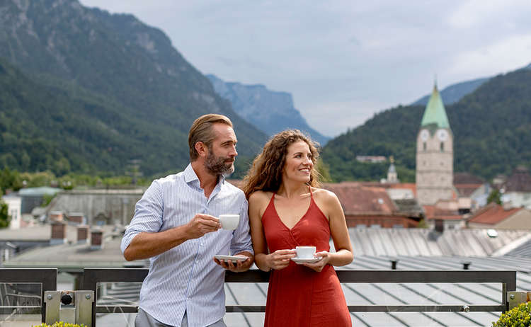 Alpine Town Bad Reichenhall