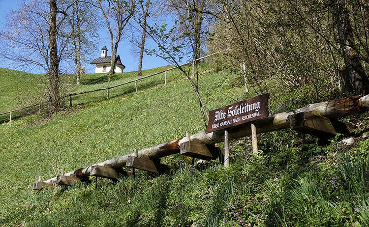 Alte Soleleitung Berchtesgaden Lockstein Kapelle
