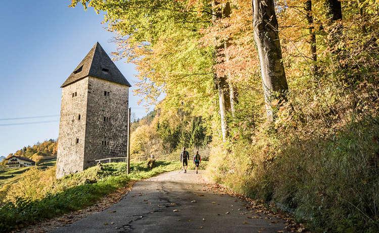 Alter Wehrturm Marktschellenberg Untersberg