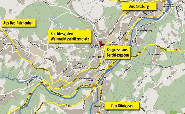 Anfahrtskizze Wander Festival