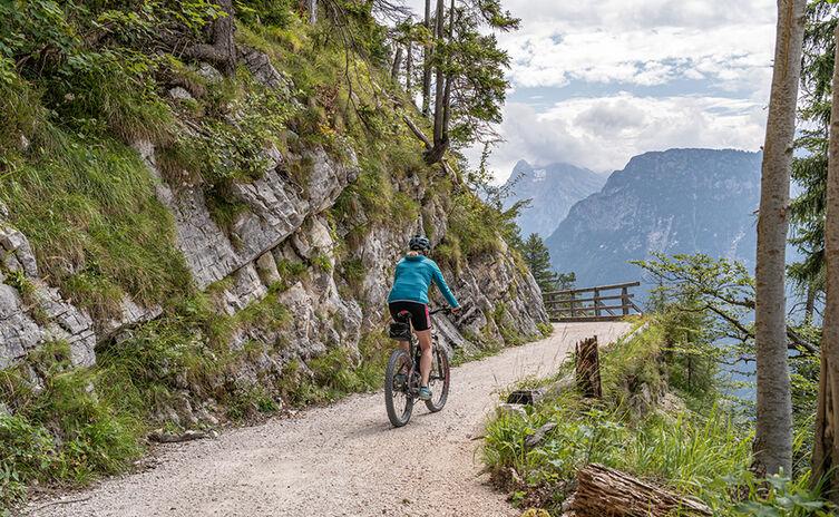Mountainbike Tour Anthauptenalm