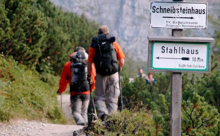 Weg zum Schneibsteinhaus
