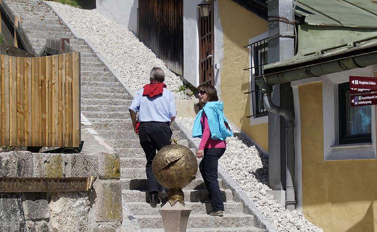 Aufstieg Zum Soleleitungsweg Berchtesgaden Vom Nonntal