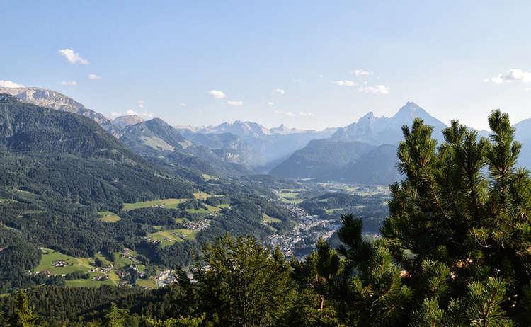 Ausblick Kneifelspitze Berchtesgaden