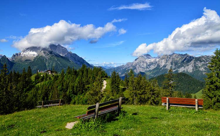 Aussicht Vom Toten Mann Bergsteigerdorf Ramsau