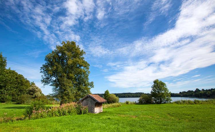 Der Abtsdorfer See: Bayerns wärmster Badesee
