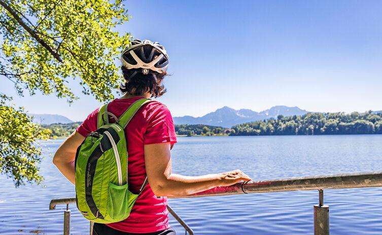 Mit dem Rad zum Abtsdorfer See