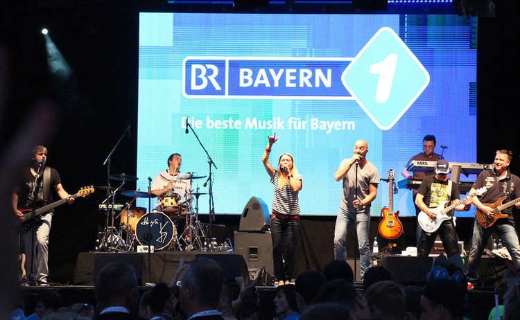 Bayern 1 Band On Stage