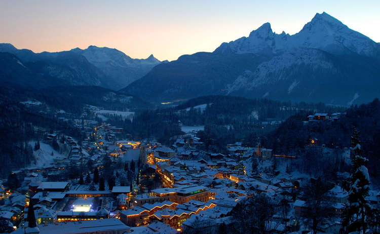 Winter in Bavaria: Berchtesgaden Christmas Market