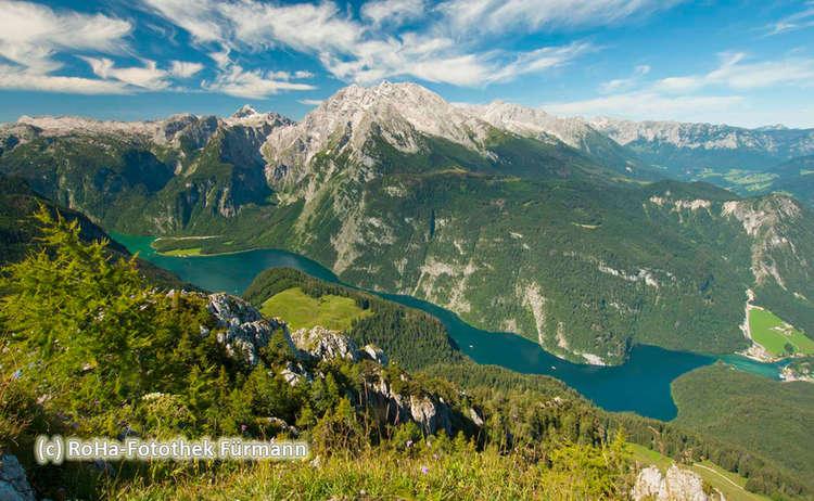 Berchtesgaden Jenner Berg Steineres Meer Koenigssee Watzmann