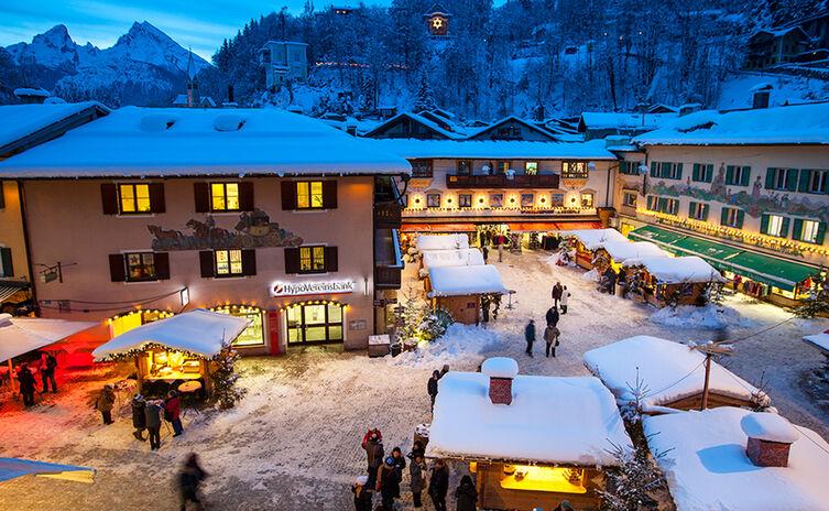 Berchtesgadener Advent Christkindlmarkt Im Historischen Markt