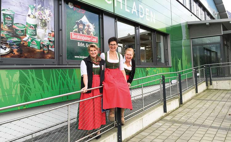 Bergbauernmilch Milchladen Team