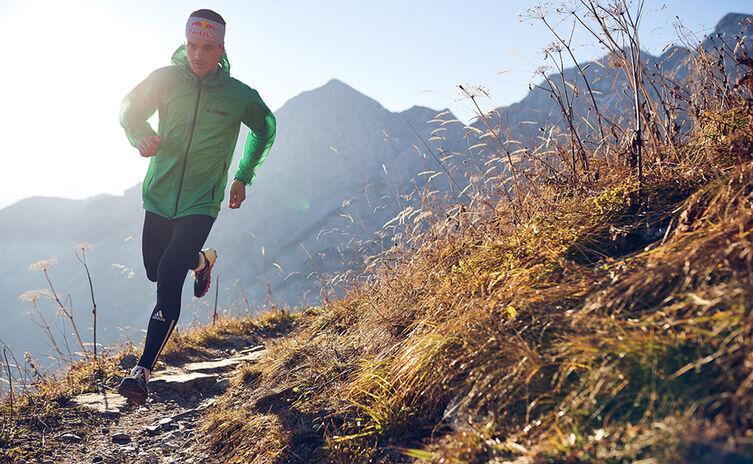 Toni Palzer beim Berglauf in den Berchtesgadener Alpen