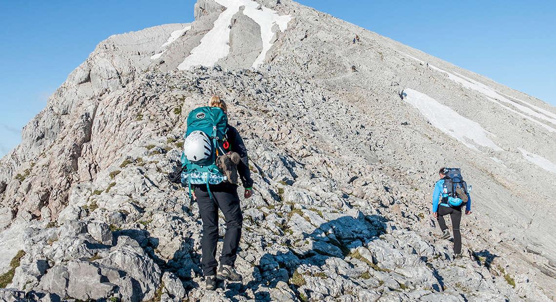 Bergsteigen Watzmannueberschreitung Berchtesgaden