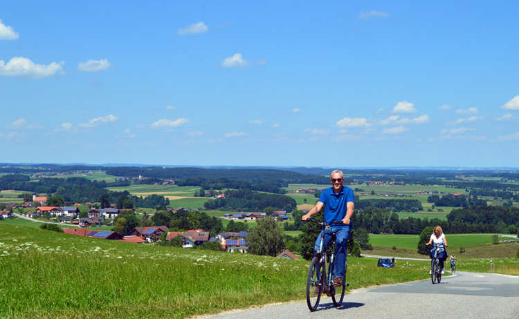 Radfahren von Salzburg nach Bad Reichenhall