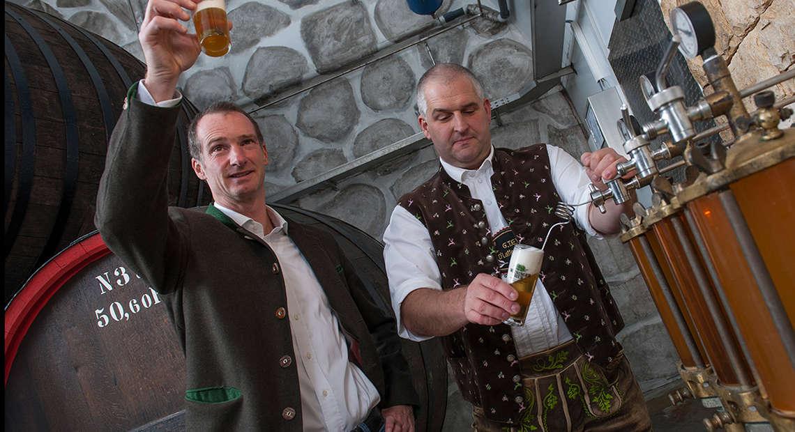 Bier Heimatbrauer Berchtesgaden Wieninger