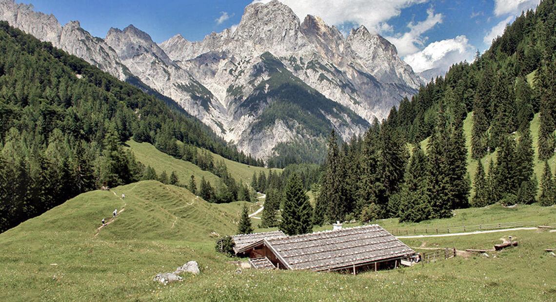 Bindalm Nationalpark Berchtesgaden