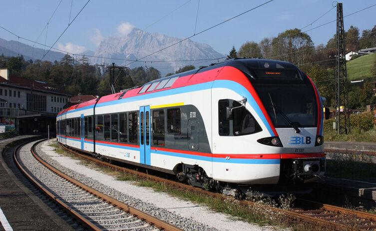 Anreise mit der Berchtesgadener Land Bahn