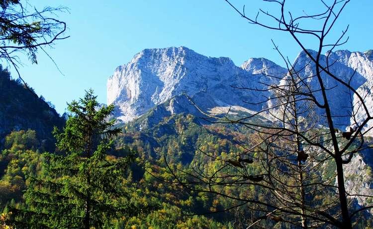 Blick Auf Den Untersberg Von Ettenberg