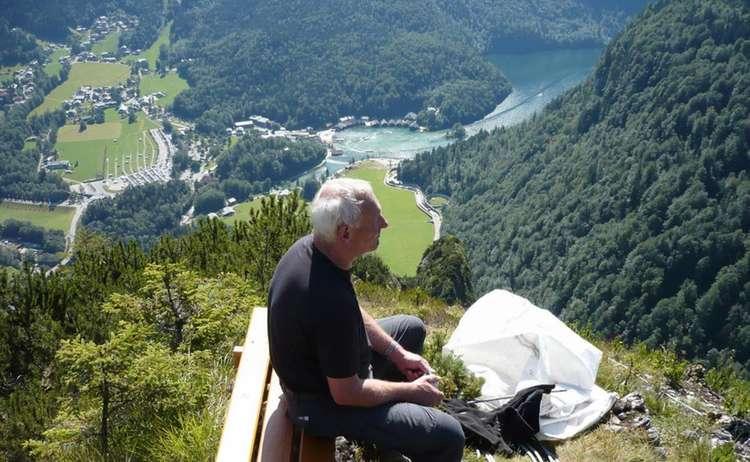 Blick Auf Koenigssee Von Gruenstein 1