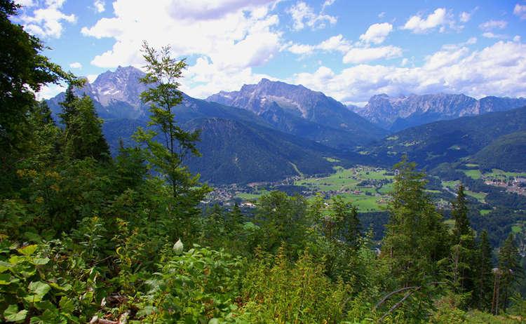 Blick Vom Obersalzberg