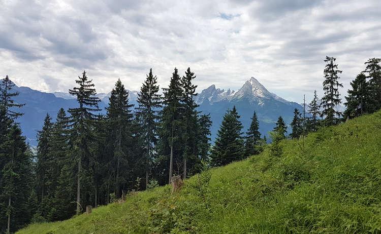 Blick Zum Watzmann Untersberg Extrem Wander Festival