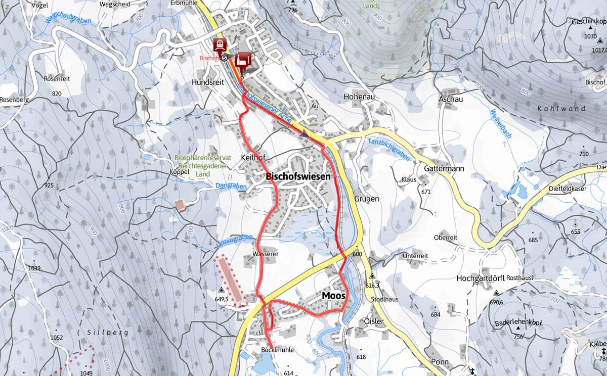 Wanderung Böcklweiher Bischofswiesen