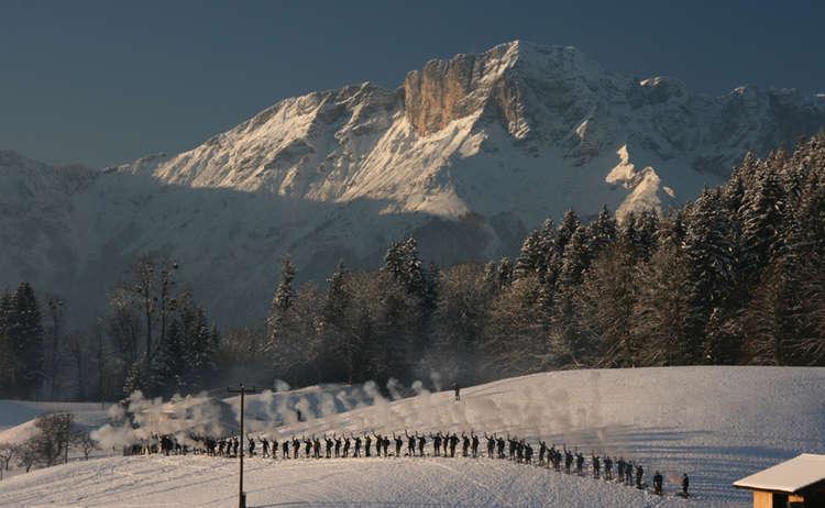 Böllerschützen im Berchtesgadener Land