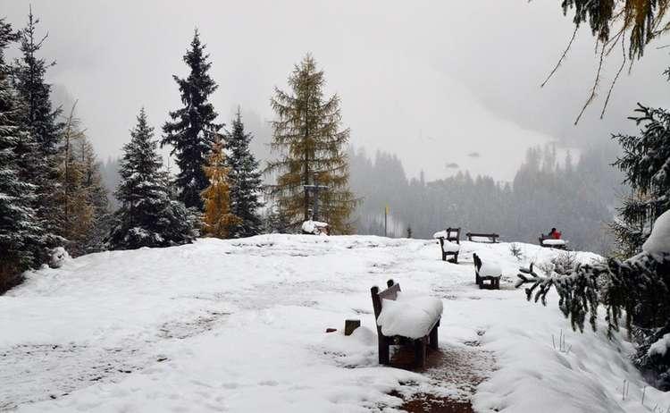 Gipfelplateau Brandkopf im Winter