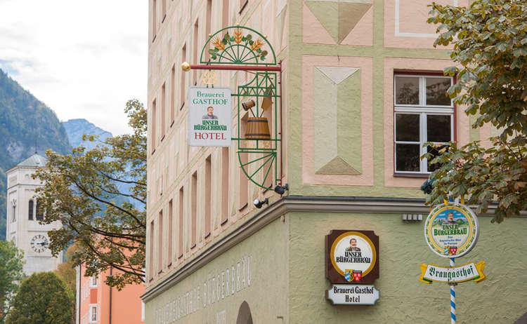 Brauereigasthof Buergerbraeu Reichenhall