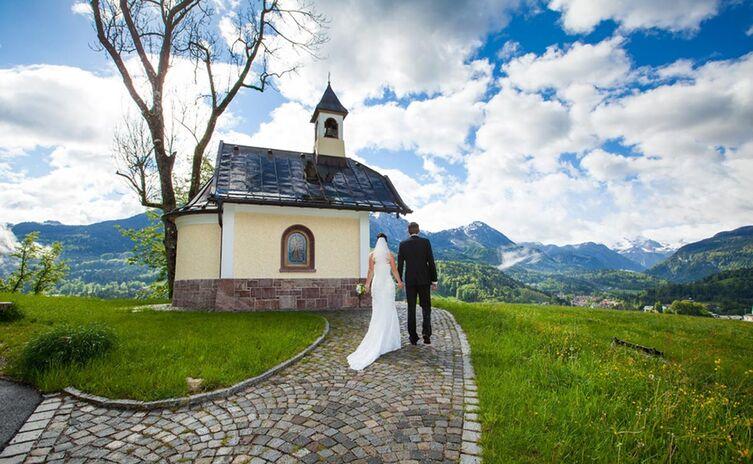 Brautpaar Weinfeldkapelle