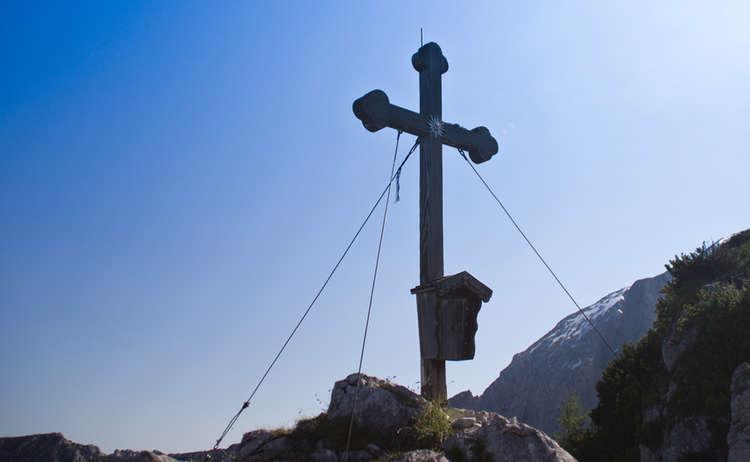Brettgabel Gipfelkreuz