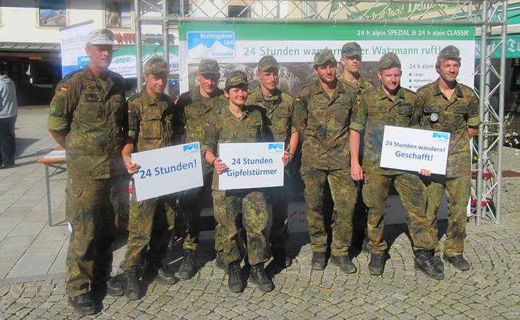 Bundeswehr 24 Stunden