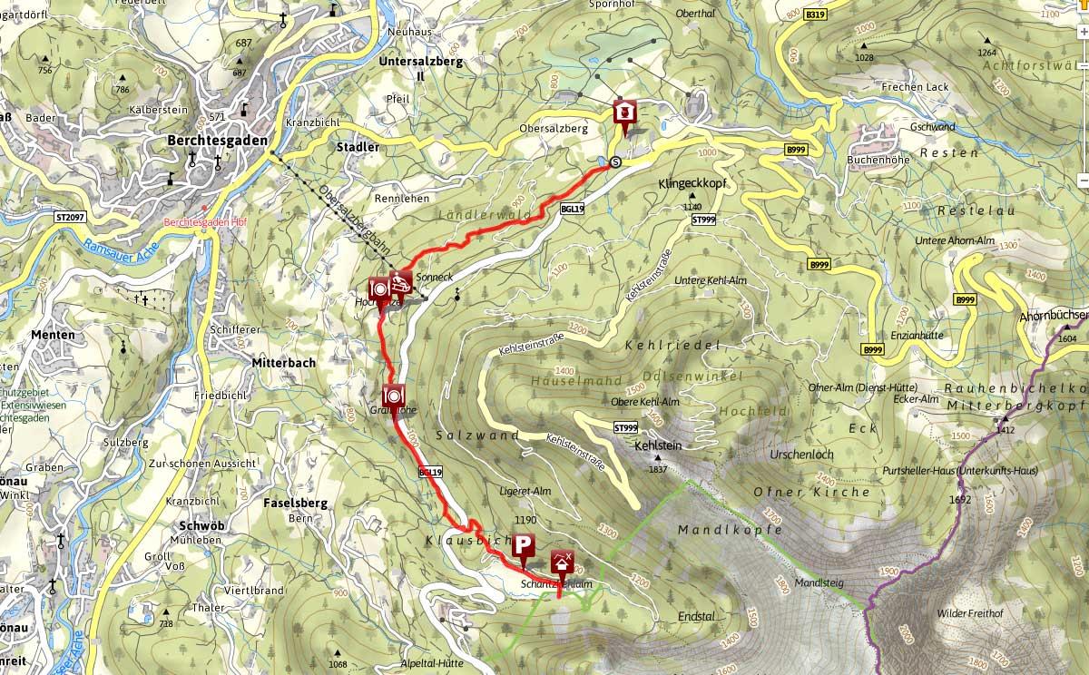 Carl von linde Weg Obersalzberg