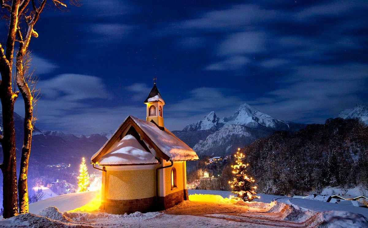 christmas in berchtesgaden bavaria. Black Bedroom Furniture Sets. Home Design Ideas