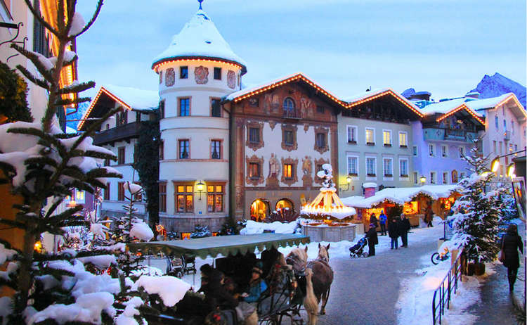 Berchtesgaden Christmas Market in the Old Town