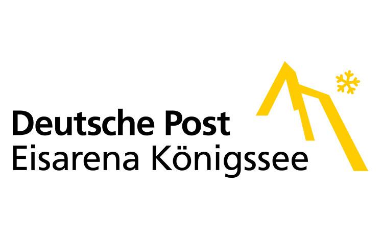 Deutsche Post Eisarena Königssee Logo