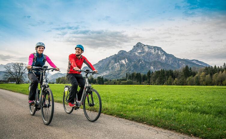 Mit dem E-Bike um den Untersberg