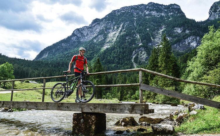 E Mountainbike Schwarzbachalm Rund Ums Lattengebirge