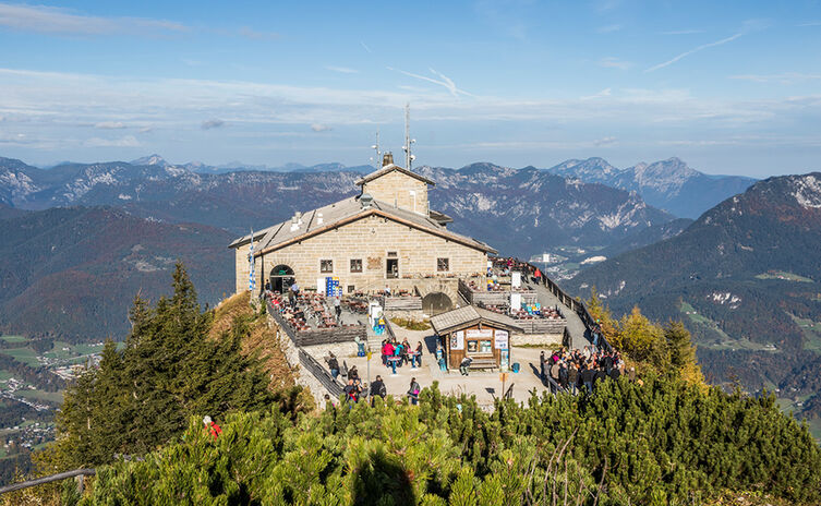 The Eagles Nest: historic viewpoint high above Berchtesgaden
