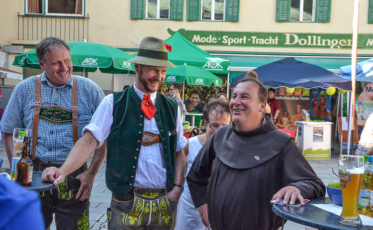 Offizielle Eröffnung Wander-Festival