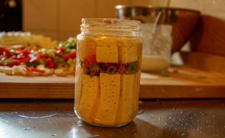 Eingelegter Käse von Verena Maier