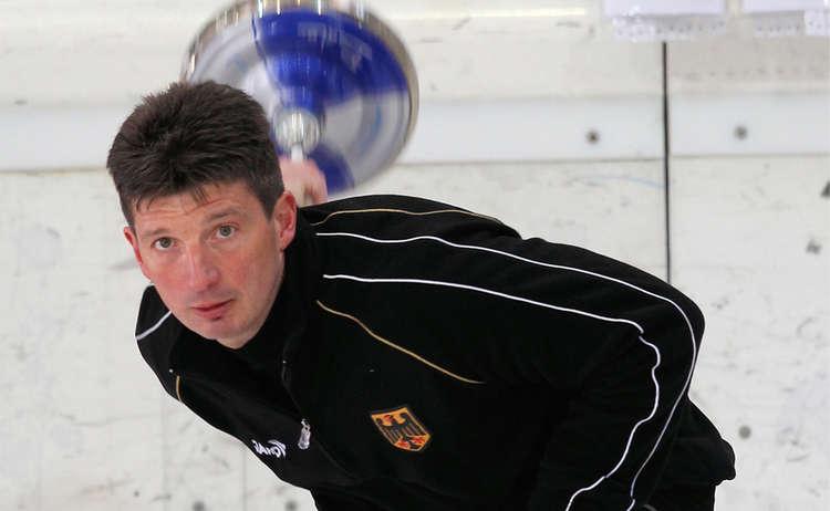 Eisstockweltmeister Rupert Geigl 1